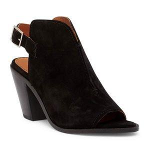 New Frye Courtney Sling Block Heel